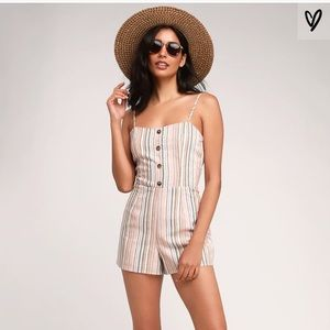 Adorable Lulus Striped Romper